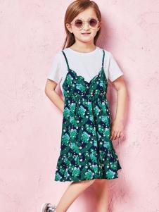 的纯童装时尚新品两件套