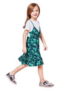 的纯童装时尚新品两件套裙装