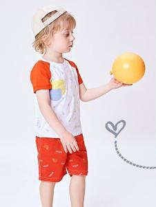 的纯童装时尚新品休闲套装