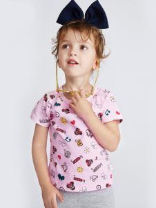 的纯童装时尚新品图文T
