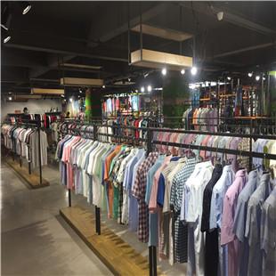 厂家直销商场剪标品牌男装批发进货货源低价促销品牌服装