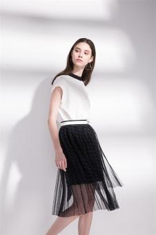 2018夏季新款网纱裙