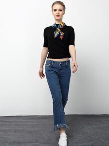 2018春夏装女装牛仔裤