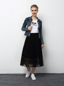 2018春夏装女装牛仔外套