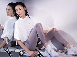 刘雯成Puma全球品牌代言人 加深女性运动时尚元素