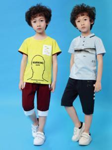 kimi&cindy男童纯色T恤