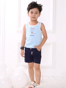皇后婴儿男童夏款套装