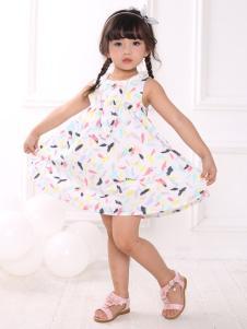皇后婴儿女童夏款可爱连衣裙