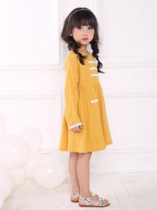 皇后婴儿女童韩版连衣裙