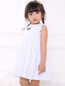 皇后婴儿女童甜美白色连衣裙