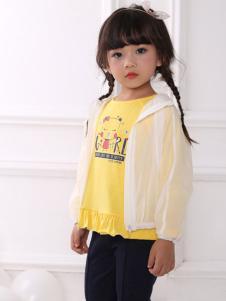 皇后婴儿女童防晒衫