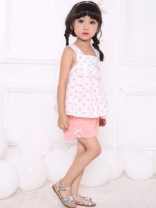 皇后婴儿女童18夏款套装