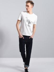 UNKUT恩咖男装18休闲 T恤