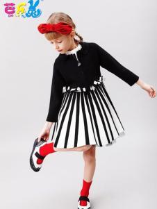 芭乐兔童装时尚连衣裙