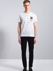 UNKUT恩咖2018夏款白色T恤