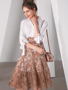 TT夏装蕾丝半身裙