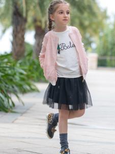 芭乐兔女童外套18新款
