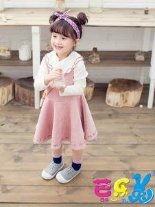 芭乐兔童装女童连衣裙