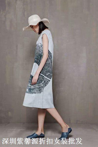 北京品牌容子木折扣女装尾货批发