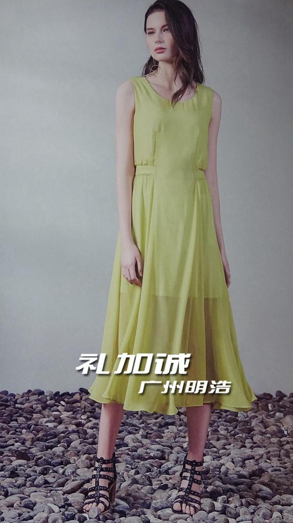 广州伊袖夏装女装折扣批发货源市场