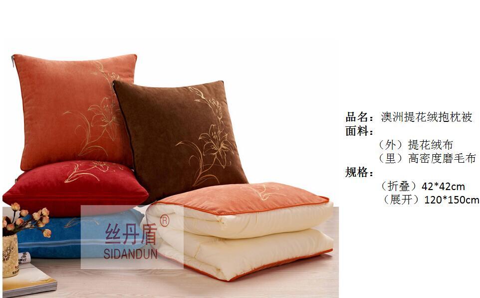 合肥广告抱枕定做【厂家直销】企业抱枕被定制logo