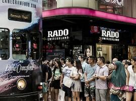 香港1、2月合计零售额大升幅 2月零售额急升29.8%