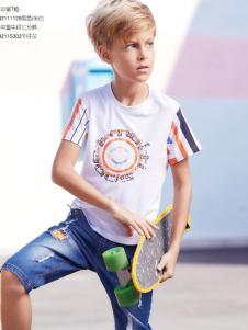 杰米熊男童夏季新款T恤