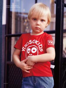 YukiSo男童18红色T恤