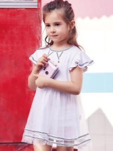 杰米熊女童装夏款连衣裙