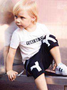 YukiSo男童18白色T恤