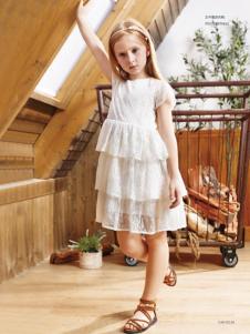 YukiSo女童18白色连衣裙