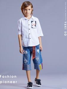 YukiSo男童衬衫18新款