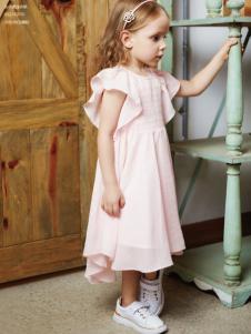 YukiSo童装18粉色连衣裙