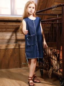 YukiSo女童18牛仔裙