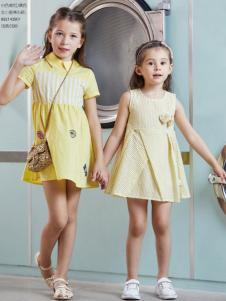杰米熊童装品牌18夏款裙子