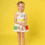 夏季就要色彩缤纷 芙丽芙丽童装为孩子带来甜美装扮