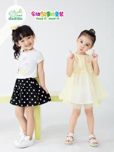 嗒嘀嗒夏装新款女童装