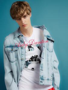 爱迪丹顿春夏新款牛仔外套