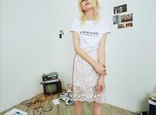 2018夏季新款蕾丝短裙