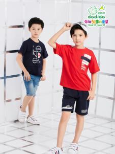 嗒嘀嗒夏装新款男童装