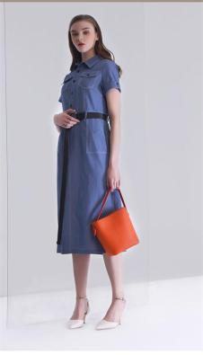 K·Fenfani凯·芬梵妮2018新品牛仔连衣裙
