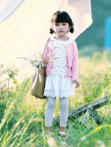 德蒙斯特新款时尚气质女童外套