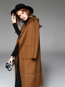 曼柏优妮新款呢子外套