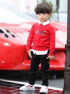 卡儿菲特时尚休闲个性男童卫衣
