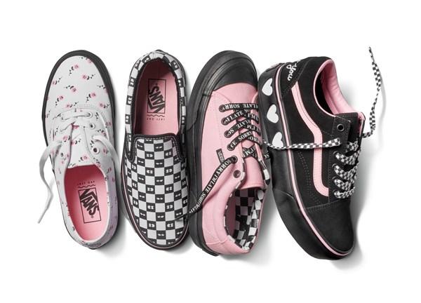 Vans x联名Lazy Oaf 创意逗趣鞋服系列全新上市(图1)
