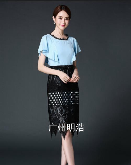 品牌折扣女装蕾丝裙货源【供应】