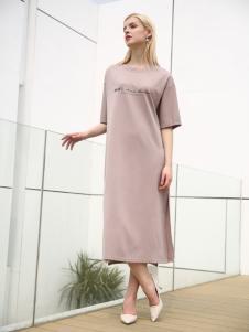 布伦圣丝新款时尚气质连衣裙
