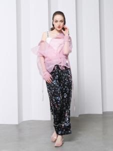 欧玥新款时尚个性两件套衬衣