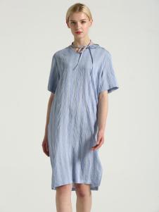布伦圣丝BLSS新款短袖连衣裙