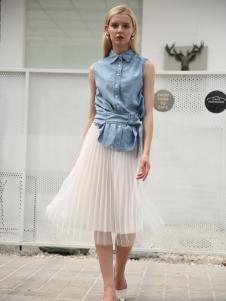 布伦圣丝新款时尚休闲衬衫